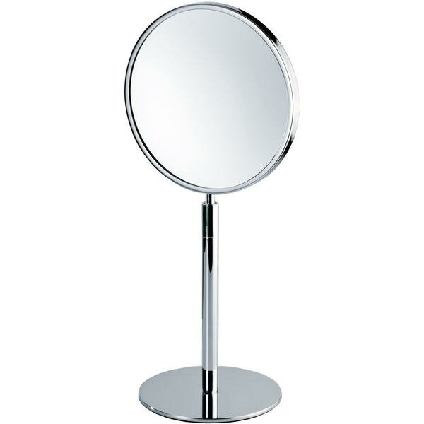 Korman Round Makeup/Shaving Mirror by Symple Stuff