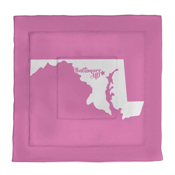 Baltimore Maryland Single Reversible Comforter