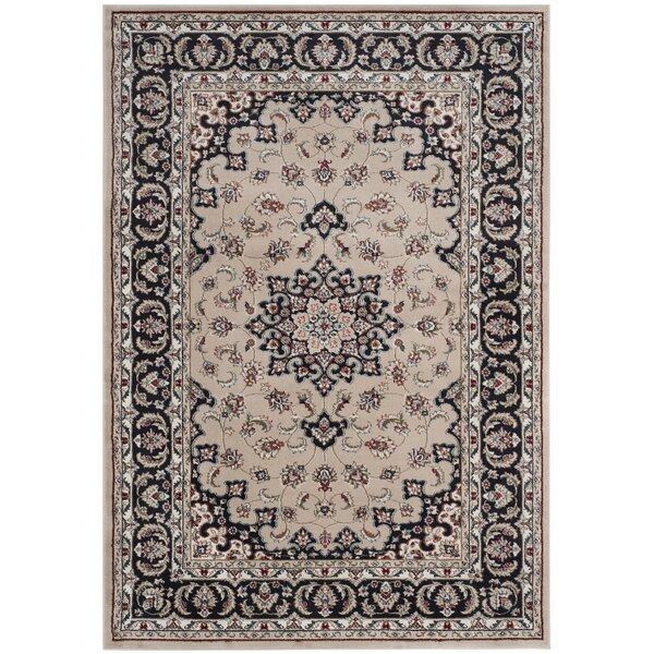 Taufner Cream/Anthracite Area Rug by Astoria Grand
