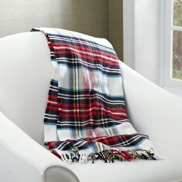 Mila Tartan Throw by Birch Lane™