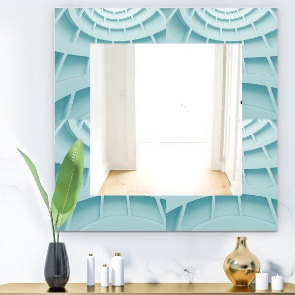 Waves 4 Wall Mirror