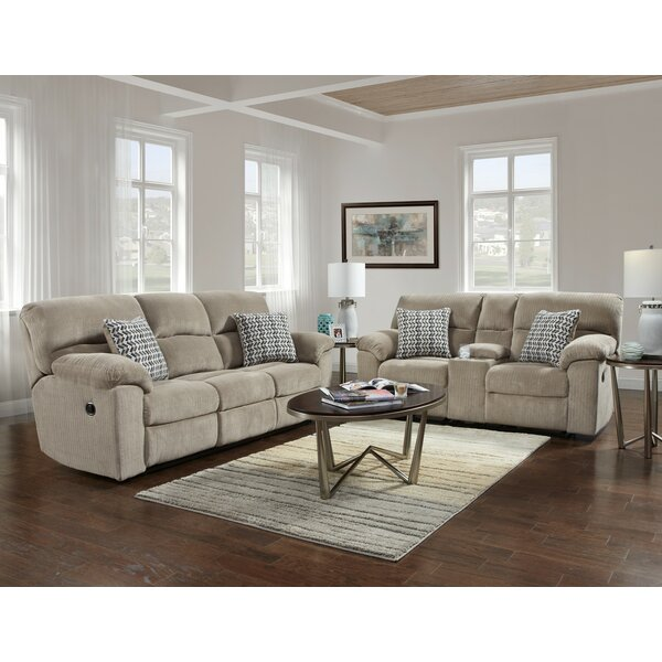 Melville Reclining 2 Piece Living Room Set by Red Barrel Studio