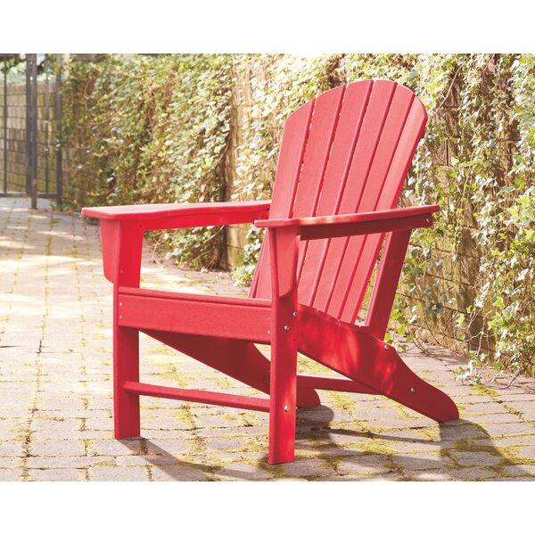 Lupe Plastic Adirondack Chair by Highland Dunes Highland Dunes