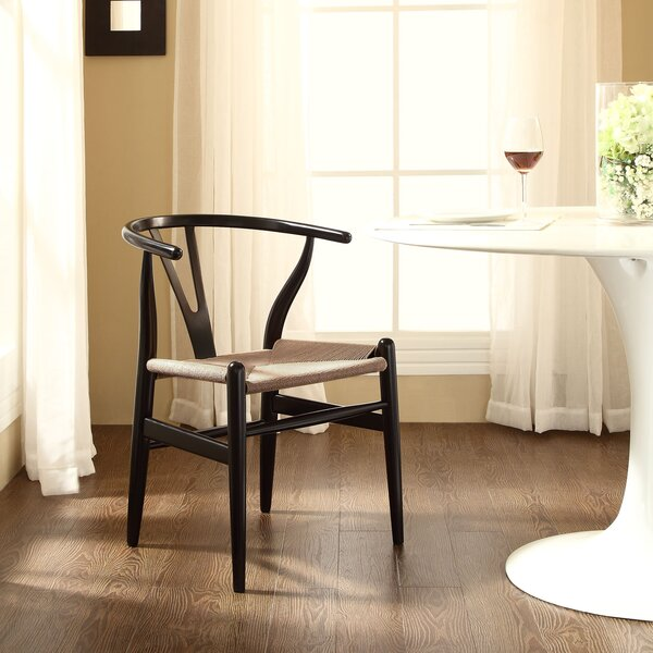 Sydnee Solid Wood Dining Chair by Mistana