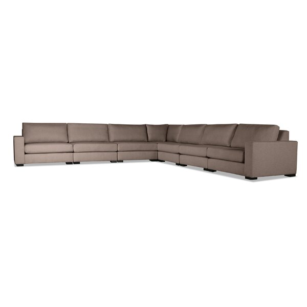 Brose Plush Deep Modular Sectional by Brayden Studio