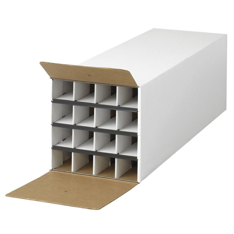 Document And Gift Wrap Paper Roll Storage Organizer