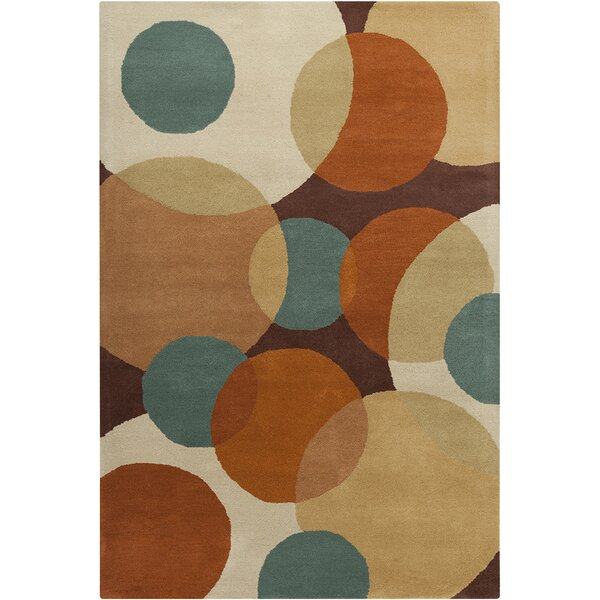 Oritz Hand Tufted Wool Dark Area Rug by Brayden Studio