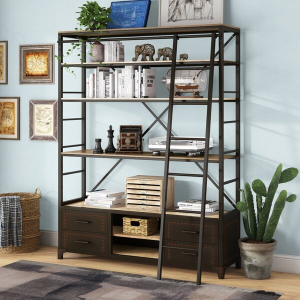 Jessop Library Bookcase by Trent Austin Design