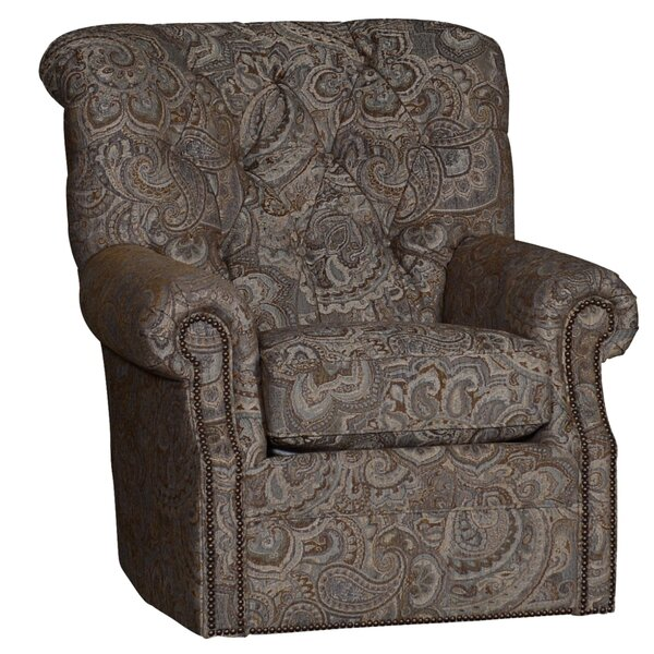 Custis Swivel Armchair by Darby Home Co