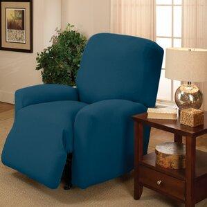 Box Cushion Recliner Slipcover & Big Man Recliner Covers | Wayfair islam-shia.org