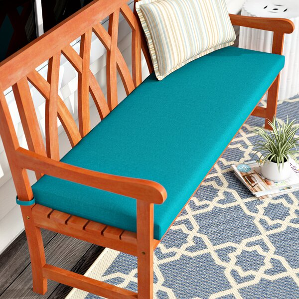 Indoor/Outdoor Bench Cushion by Beachcrest Home