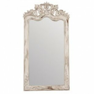 Darice European White Floor Accent Wall Mirror by One Allium Way