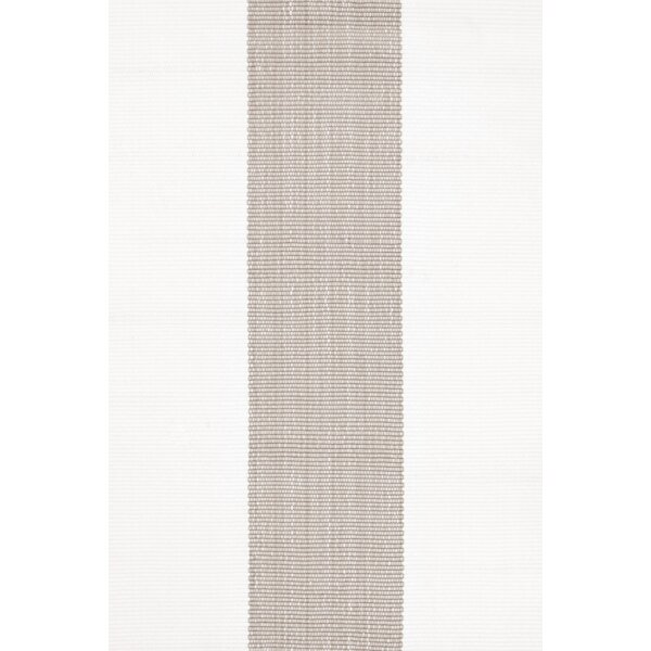 Lakehouse Hand Woven Grey/White Indoor/Outdoor Rug by Dash and Albert Rugs
