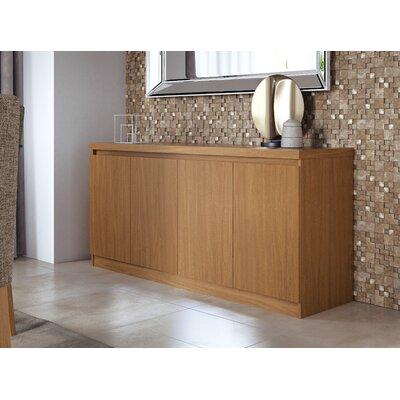 "Wrought Studio Miruna 63"" Wide Wood Sideboard  Color: Maple Cream"