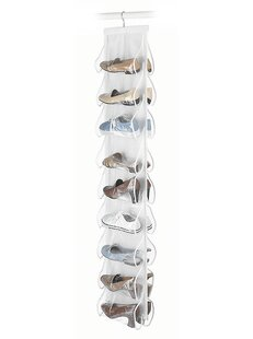 9 Pair Hanging Shoe Organizer by Rebrilliant