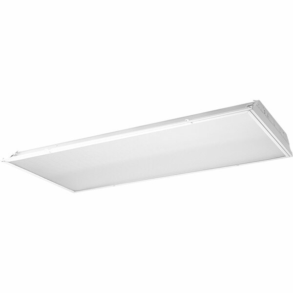 2-Light Indoor Lensed LED Troffer by Progress Lighting