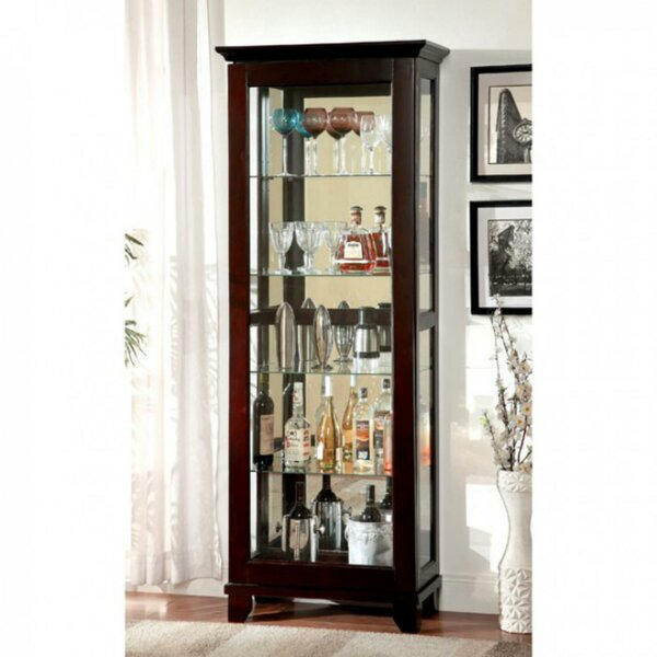 Fackler Curio Cabinet by Darby Home Co