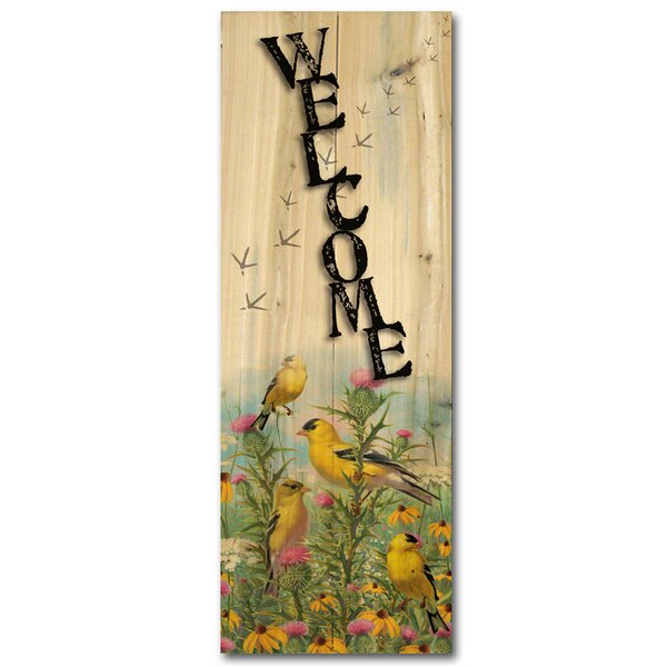 Welcome Golden by Mark Hanson Glories Graphic Art Plaque by WGI-GALLERY