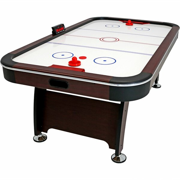 84 Air Hockey Game Table with Scorer by Wildon Hom