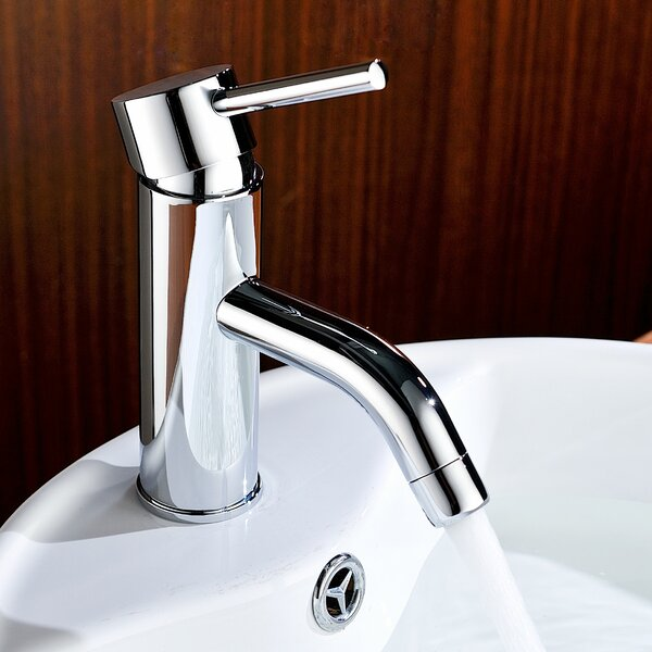 Bravo Single Hole Bathroom Faucet with Drain Assembly by ANZZI
