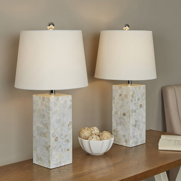 Seaside 26 Table Lamp (Set of 2) by Beachcrest Home