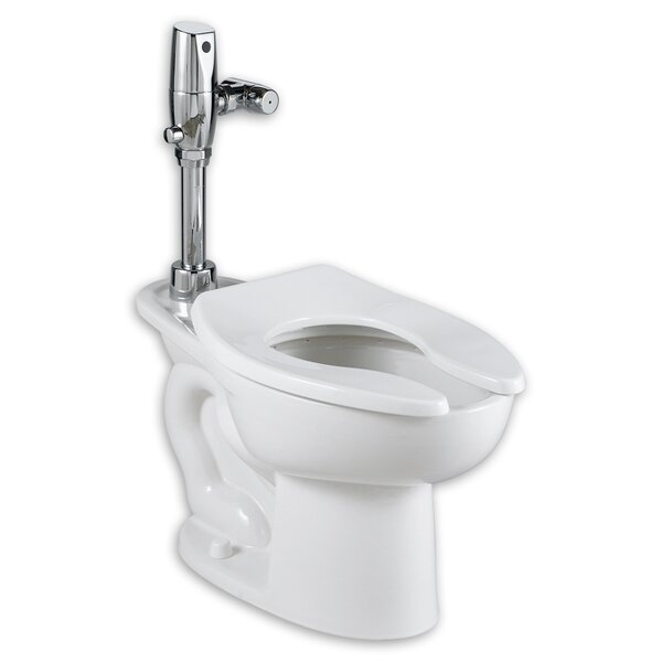 Madera Ada Selectronic Everclean Flush Valve 1.1 GPF Elongated One-Piece Toilet by American Standard