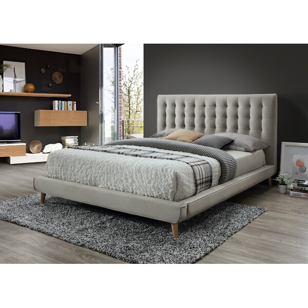 Acker Upholstered Platform Bed by Trule Teen