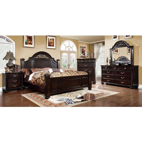 Bohn Four Poster Bed by Darby Home Co