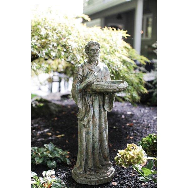 Brockley St. Francis Statue by Fleur De Lis Living