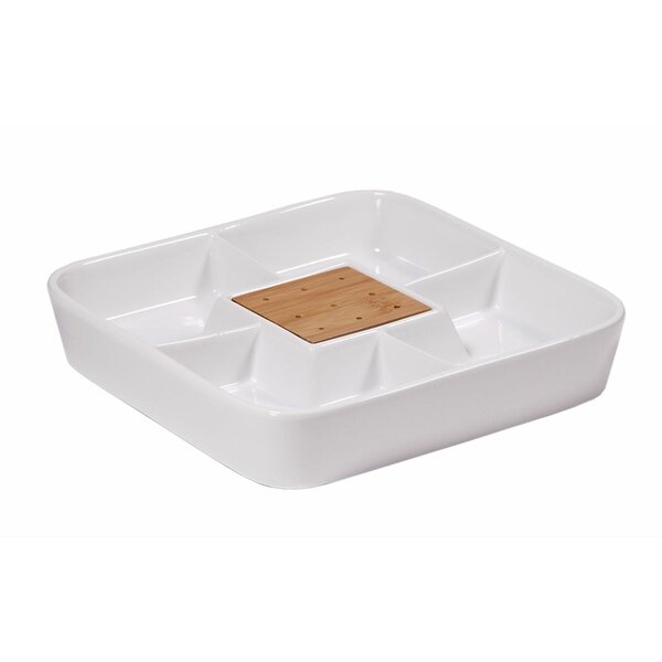 Niemi Fulton Server Divided Serving Dish by Ebern Designs