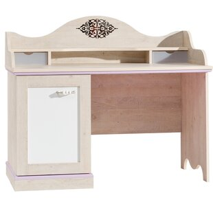Check Prices Bax 47 W Writing Desk with Cabinets By Harriet Bee