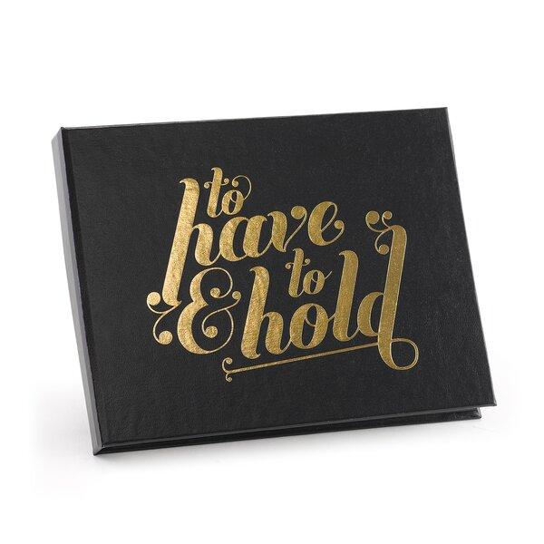Have & Hold Guest Book by Hortense B Hewitt
