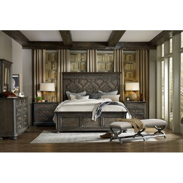 Vintage West California King Platform Configurable Bedroom Set by Hooker Furniture