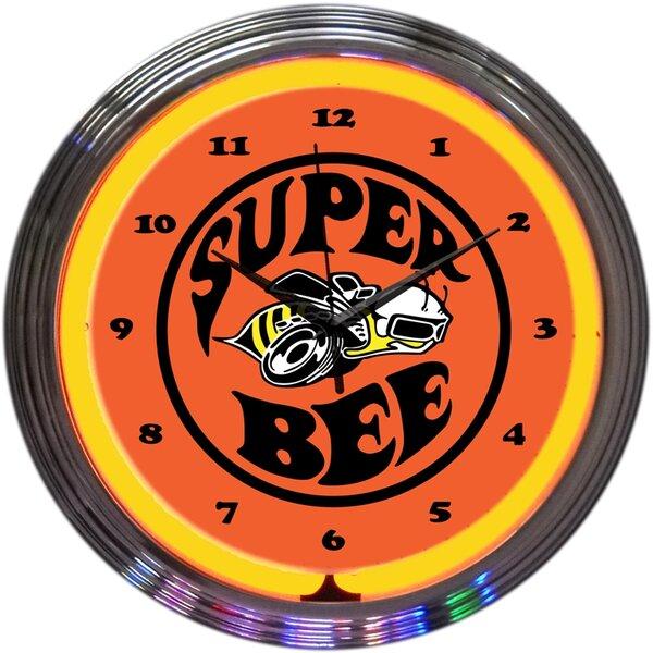 15 Super Bee Neon Clock by Neonetics