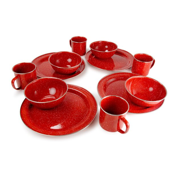 Aletha 12 Piece Dinnerware Set, Service for 4 (Set of 12) by Loon Peak