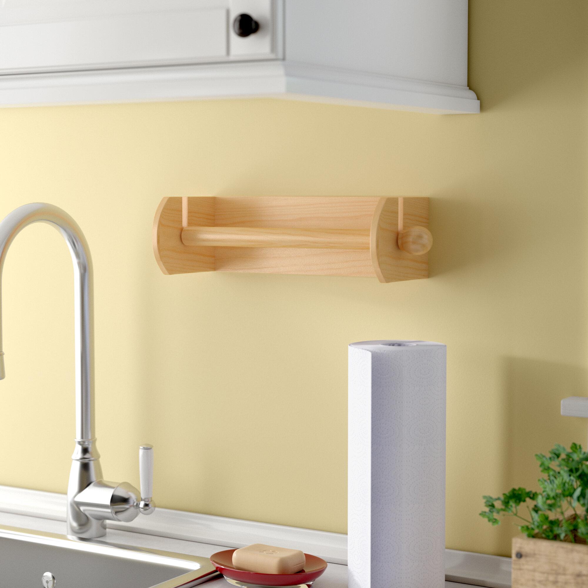Red Barrel Studio Brown Paper Towel Holder & Reviews   Wayfair