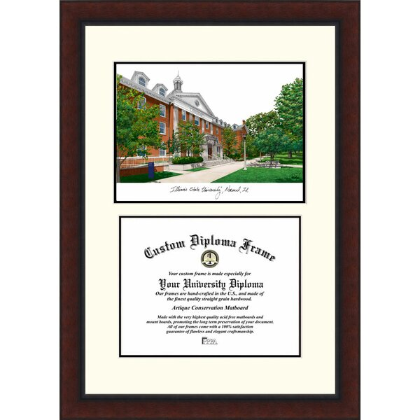 NCAA Illinois State Legacy Scholar Diploma Picture Frame by Campus Images
