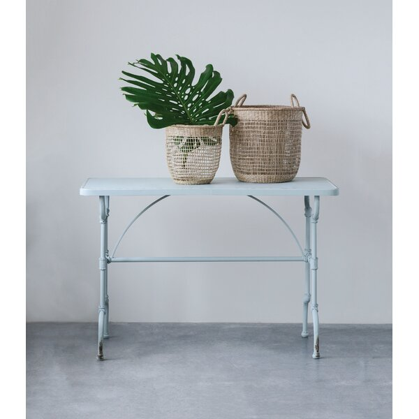 Blankenship Metal Console Table by Williston Forge