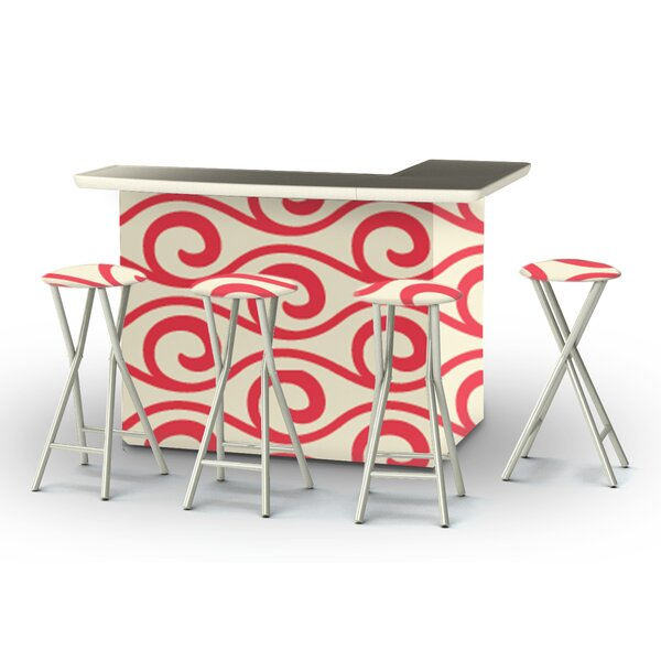 8 Piece Patio Bar Set by Best of Times