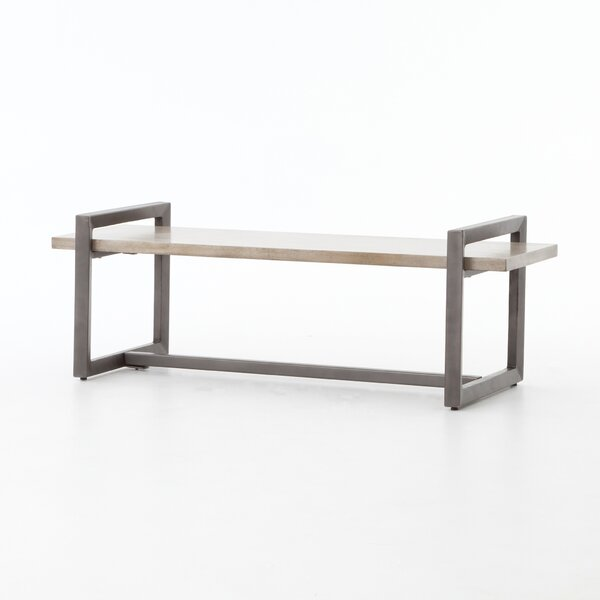 Marlene Wood Bench by 17 Stories
