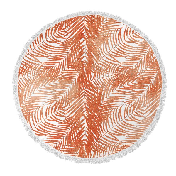 Haylee Round Beach Towel by Bayou Breeze