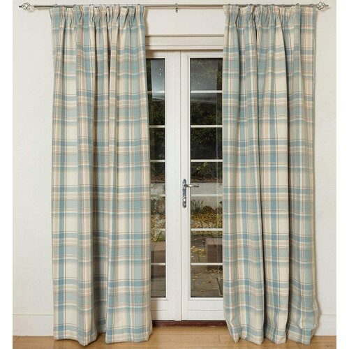 Ashtyn Heritage Tailored Eyelet Blackout Thermal Curtains Beachcrest Home Panel Size: 228 W x 137 D cm