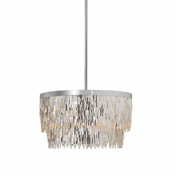 Lacluta 6 - Light Unique / Statement Tiered Chandelier By Everly Quinn