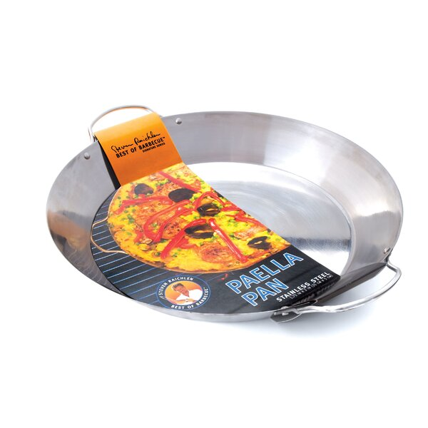 Steven Raichlen Stainless Paella Pan by Charcoal Companion