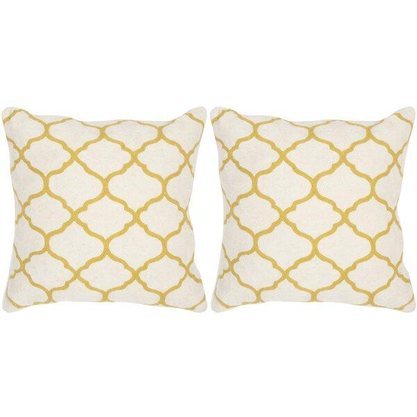 Rhea Throw Pillow (Set of 2) by Safavieh
