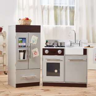 Find 2 Piece Urban Adventure Play Kitchen Set By Teamson Kids