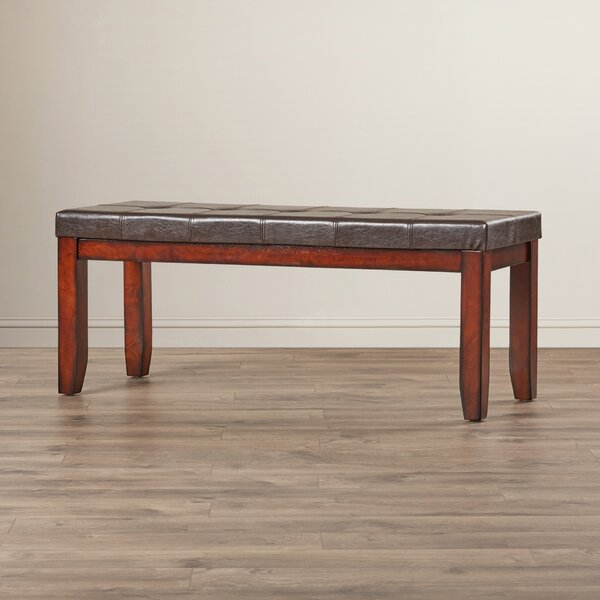 Kauai Faux Leather Bench by Red Barrel Studio