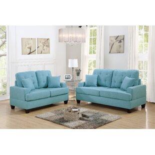Woolridge 2 Piece Configurable Living Room Set by Latitude Run®
