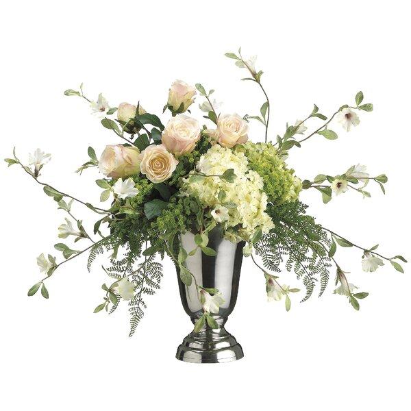 Mixed Floral Arrangement in Decorative Vase by Rosdorf Park