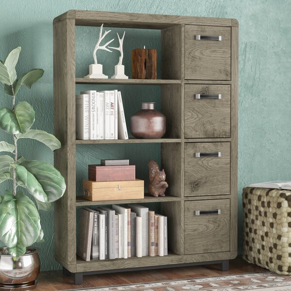 Jodi Standard Bookcase by Greyleigh